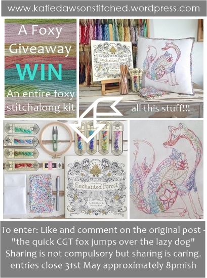 foxy giveaway